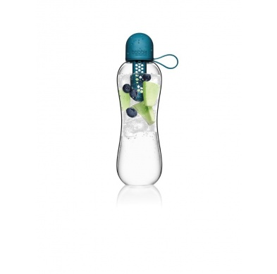 bobble 590ml infuse peacock